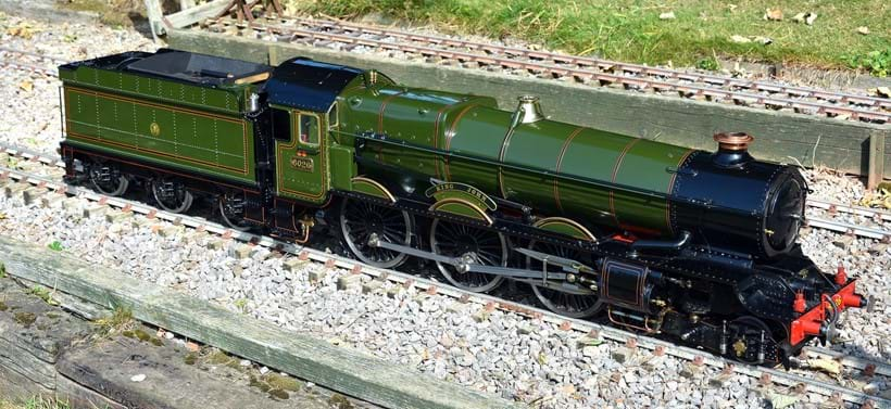 Inline Image - Lot 42: An exhibition standard 5 inch gauge model of the Great Western Railway 4-6-0 King Class tender locomotive, No 6026 'King John' | Est. £20,000-25,000 (+fees)
